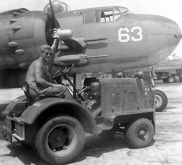 Tractor on the Flight Line