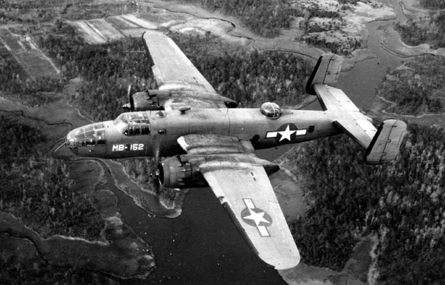 MB-152 Over North Carolina