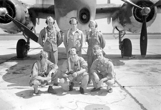 Unidentified Aircrew
