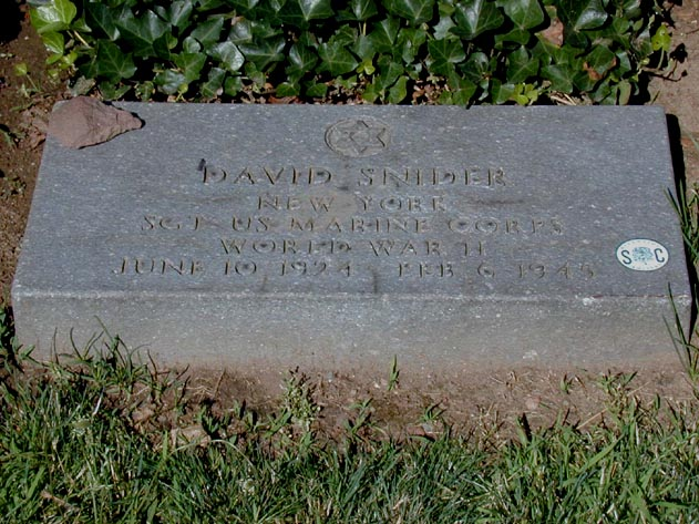 Grave of Dave Snider