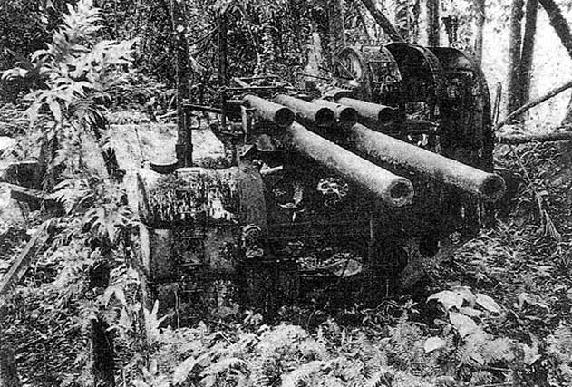 127mm Gun on Sokehs Rock